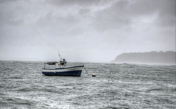 To Sea in a Storm by Yourself? It ain't so.