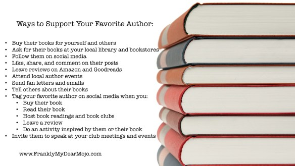 Ways to Support Your Favorite Author
