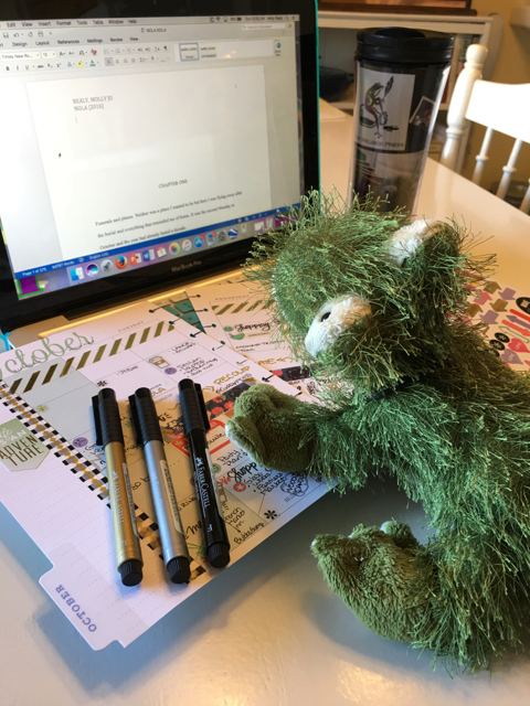 #AmWriting: Nippers, NOLA, and a Happy Planner