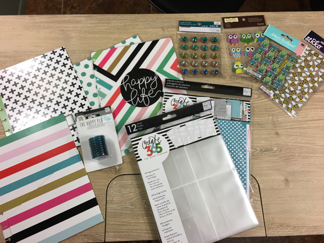 Happy Planner: Conference Style - supplies