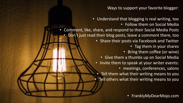 Ways to Support Your Favorite Blogger