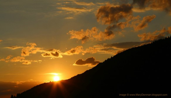 Baden-Baden Sunset