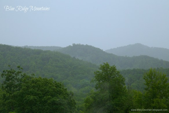 Blue Ridge Mountains by Mary Denman