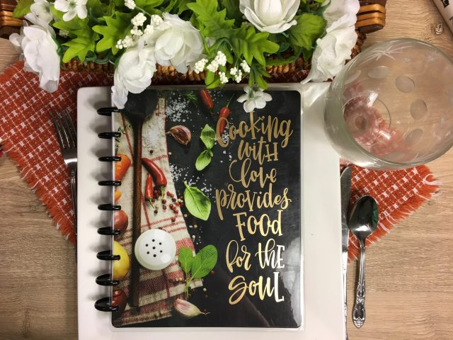 Frankly, My Dear . . . : My Happy Planner Recipe Book and Meal Planner