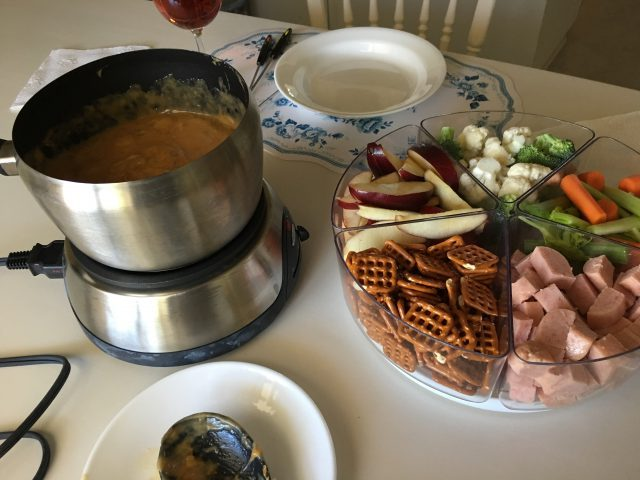 Frankly, My Dear . . . Beer Cheese Fondue