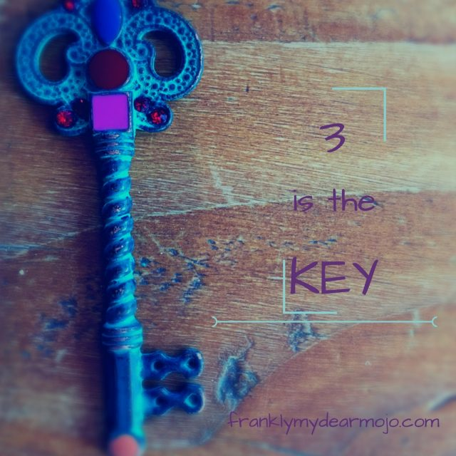 Frankly, My Dear . . . : 3 is the Key