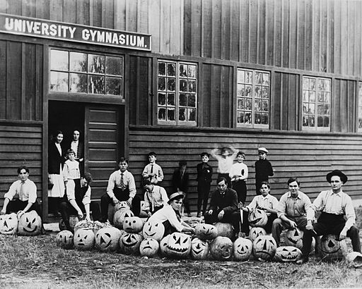 University of Southern California Student Halloween Party, Circa 1890