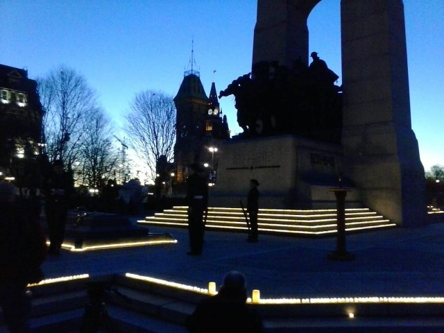 William Kendall, Photoblogger: Canadian National War Memorial