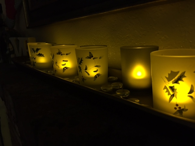 Frankly My Dear . . . : Mantle Candle Tray