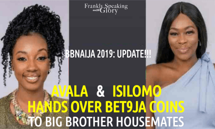 AVALA & ISILOMO Gives Bet9ja Coins to BBNaija Housemates
