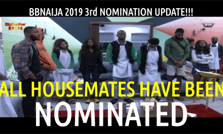 BBNaija 2019 Third LIVE NOMINATION Show | ALL HOUSEMATES UP FOR EVICTION! Biggie Nominates Everyone!