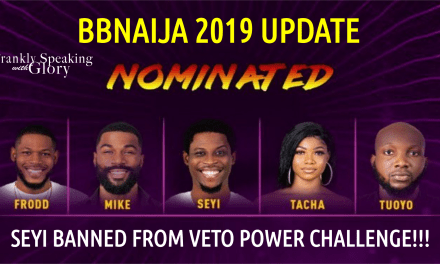 2ND LIVE NOMINATION SHOW: SEYI BANNED From EVER TAKING VETO POWER CHALLENGE