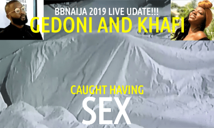BBNaija 2019 Live Update | GEDONI and KHAFI Caught Having S£X