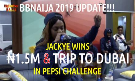 Jackye wins 1.5M Naira & Trip to Dubai in Pepsi Challenge