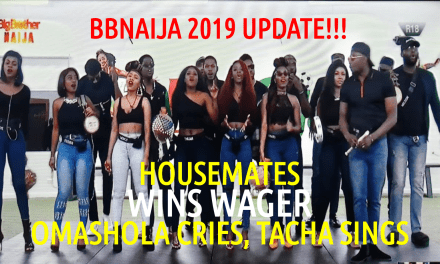 Housemates WIN their WAGER! & Omashola CRIES while singing