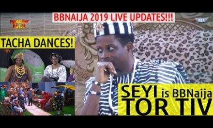 BBNaija 2019 LIVE UPDATE | SEYI BECOMES TOR TIV | HOUSEMATES PRESENT HERITAGE BANK CORONATION TASK