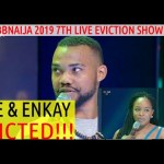 BBNaija 2019 7TH LIVE EVICTION SHOW | JOE AND ENKAY EVICTED | EBUKA TACKLE TACHA AGAIN | CINDY SAVED