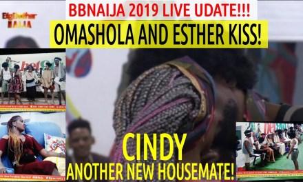 BBNaija 2019 New updates | CINDY NEW HOUSEMATE | Omashola KISS Esther | Seyi & Tacha Team WIN Presentation!