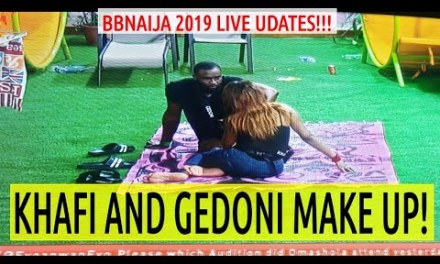 BBNaija 2019 LIVE UPDATES | KHAFI and GEDONI MAKE UP | Nigerian COZA PASTOR BACK to Pulpit and More