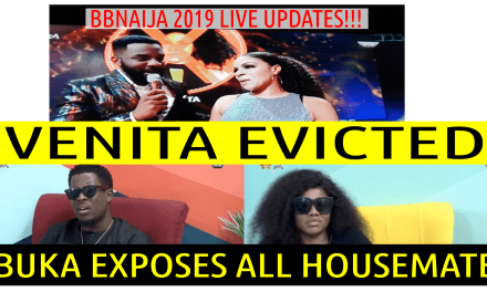 BBNaija 2019 9TH LIVE EVICTION SHOW | VENITA EVICTED | TACHA SLAMS SEYI ON TV | BBNaija Live Updates