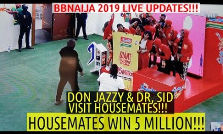 BBNaija 2019 LIVE UPDATES | PEPPER DEM HOUSEMATES WIN 5 MILLION IN INDOMIE COOKING TASK | DON JAZZY