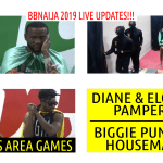 BBNaija 2019 LIVE UPDATES | BIGGIE PUNISHES HOUSEMATES  | DIANE & ELO GET PAMPERED | IKE WINS ARENA
