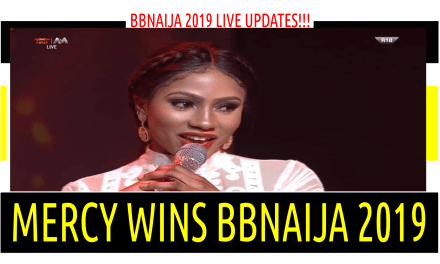 MERCY WINS BBNAIJA 2019 & MIKE RUNNER UP