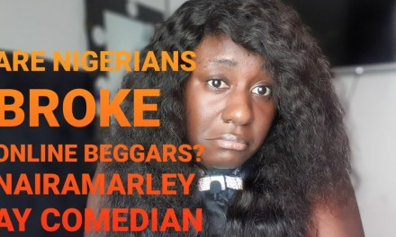 ARE NIGERIANS BROKE ONLINE BEGGARS?