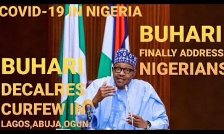 BUHARI LIVE BROADCAST | BREAKING NEWS | PRESIDENT FINALLY ADDRESS NIGERIANS ON COVID-19 | CURFEW IN LAGOS, ABUJA, OGUN