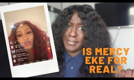 MERCY EKE RANTS ABOUT FANS NOT BEING SUPPORTIVE – IS SHE ENTITLED?