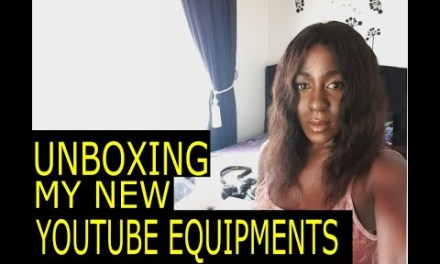 HOW I STARTED MY YOUTUBE CHANNEL | UNBOXING MY NEW YOUTUBE EQUIPMENT