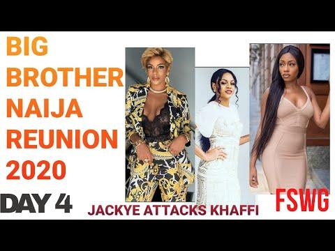 BBNaija Reunion 2020 – DAY 4   JACKYE AND VENITA BLASTS KHAFI   FRODD & SEYI HAVE IT OUT