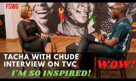 TACHA INTERVIEW WITH CHUDE JIDEONWO | SO INSPIRING! WOW! | BBNaija Reunion 2020