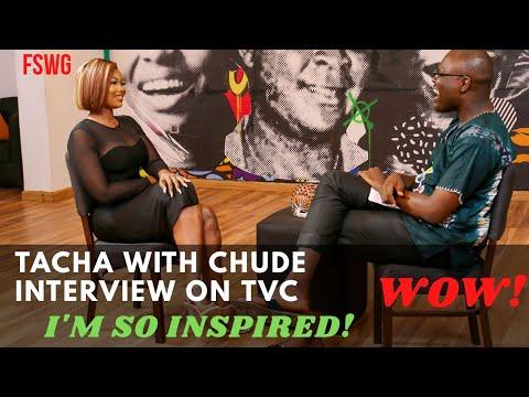 TACHA INTERVIEW WITH CHUDE JIDEONWO   SO INSPIRING! WOW!   BBNaija Reunion 2020