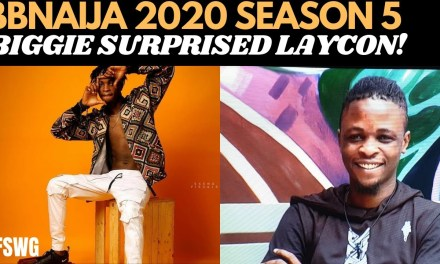 BBNAIJA 2020 LAYCON SURPRISED BY BIGGIE | KA3NA CONNECTION WITH CEE-CEE