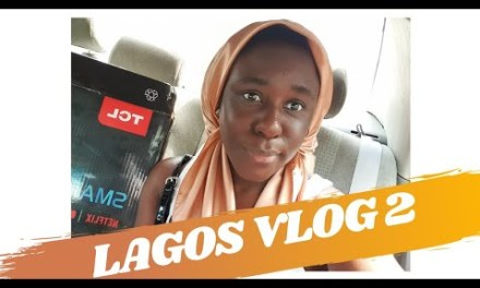 LAGOS VLOG: FIXING MY TV, RUNNING ERRANDS | A DAY IN THE LIFE OF A NIGERIAN YOUTUBER