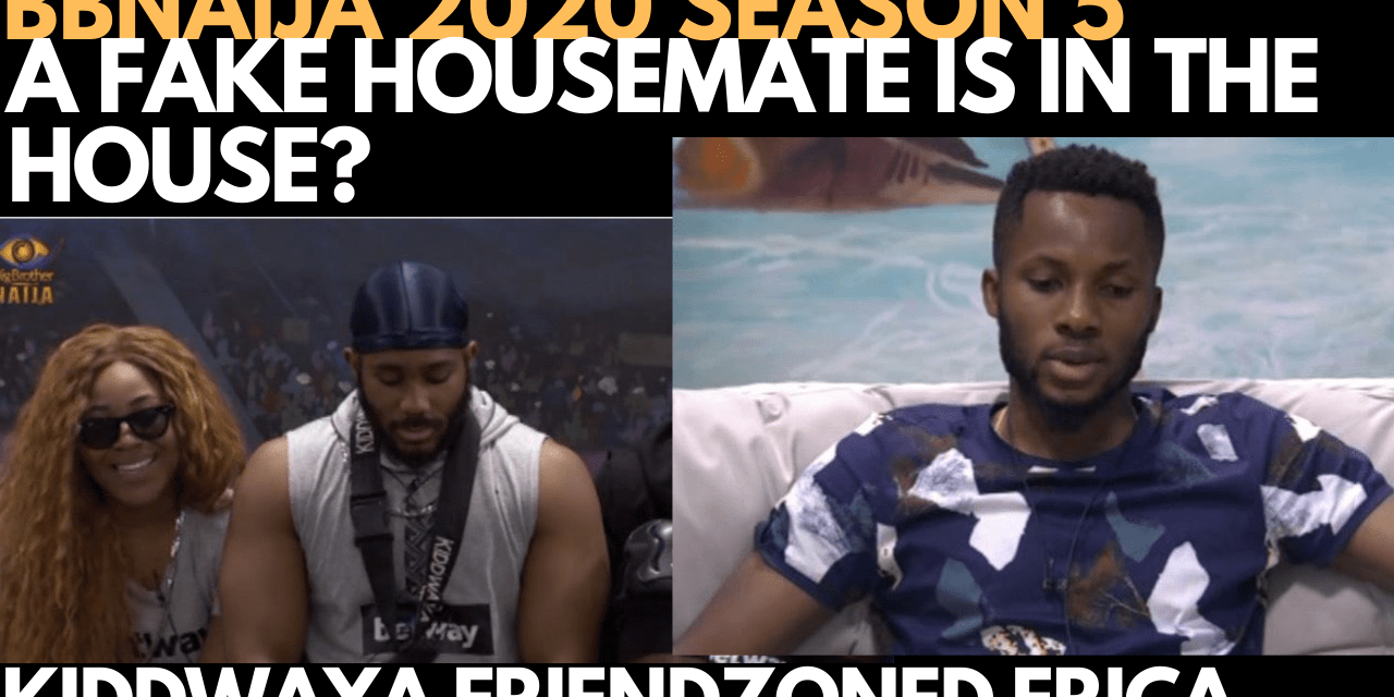 BBNAIJA 2020: IS THERE A FAKE HOUSEMATE IN D HOUSE?