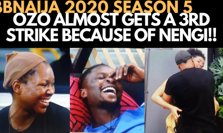 BBNAIJA 2020: OZO RISKS A STRIKE FOR NENGI | VEE & LAYCON'S LATE NIGHT CONVERSATION  ERICA, KIDDWAYA
