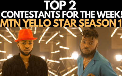 MTN YELLO STAR REALITY TV SHOW SEASON 1 EPISODE 2 | DOTTI vs DAVID GARLAND! BOTTOM 5 FOR EVICTION