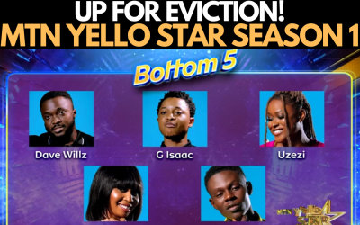 MTN YELLO STAR SEASON 1 EPISODE 3: 1ST NOMINATION | CONTESTANTS UP FOR EVICTION
