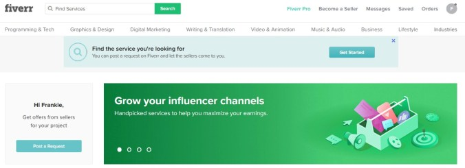 Teach A Skill With Fiverr And Make Money From Home