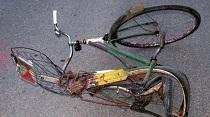 bicikli baleset