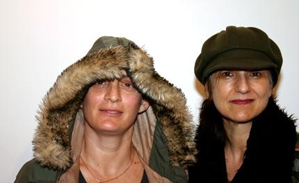Jocelyn Saidenberg and Margarget Tedesco by Zefrey Throwell