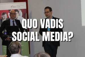 """Vortrag zum Thema """"Quo vadis Social Media – wir als gläserne Bürger"""""""