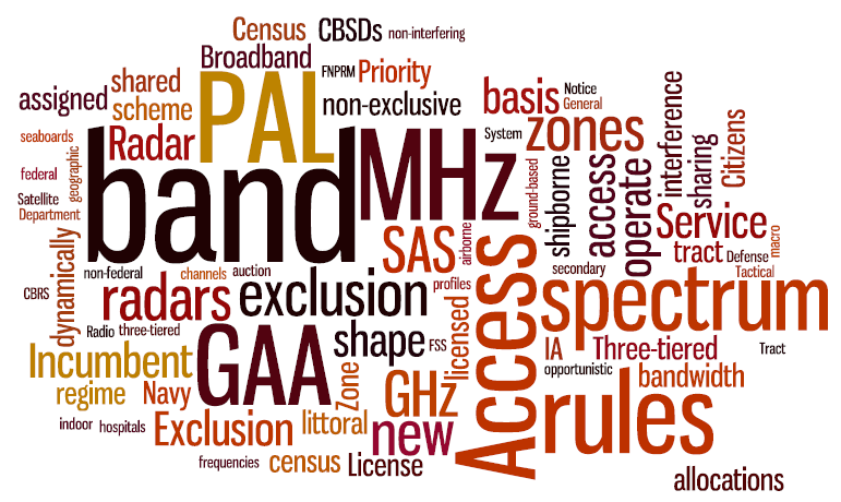 3.5 GHz Shared Spectrum Rules