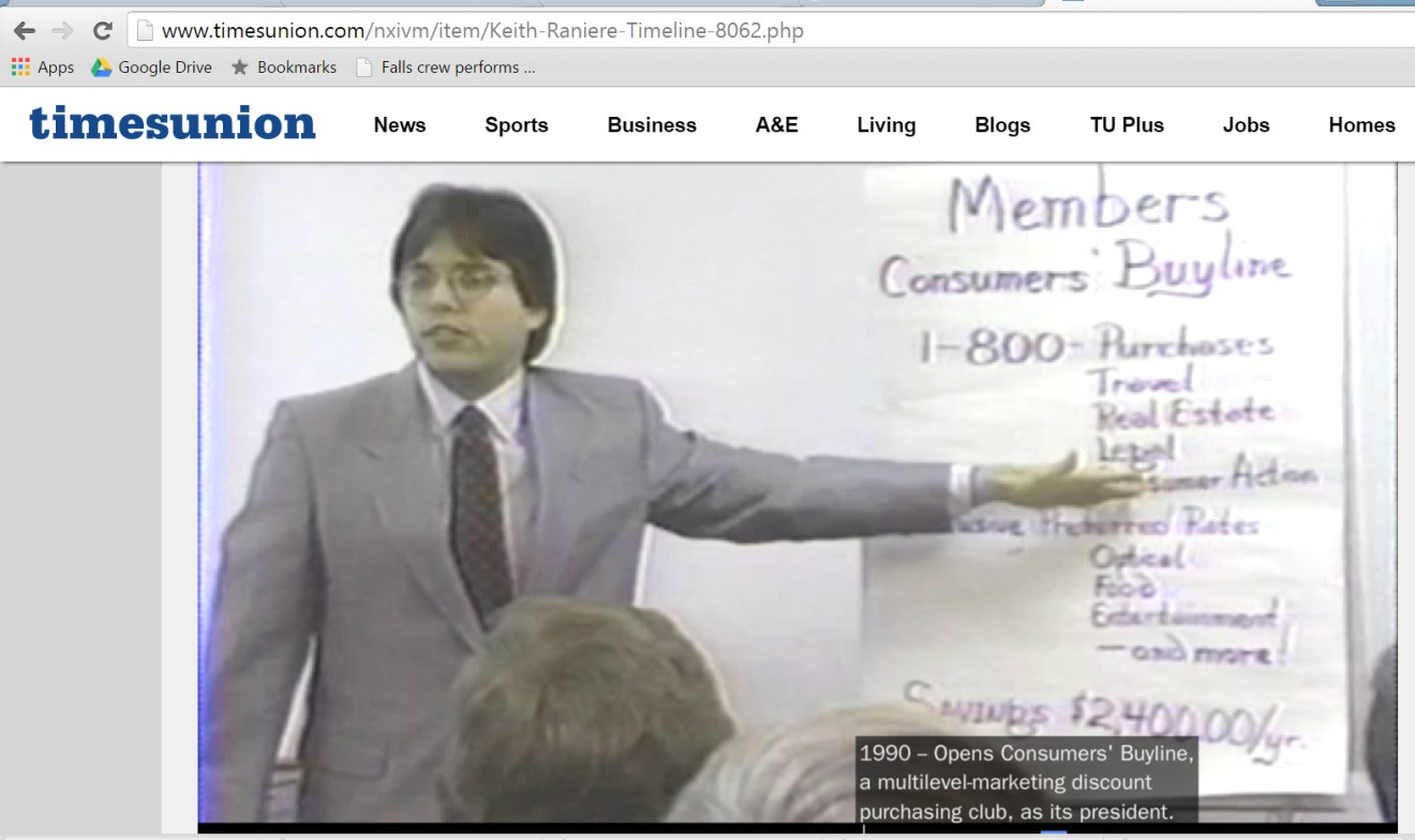 1990 raniere consumers buy line