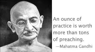 According to ESP it will give you the inner discipline of Gandhi or Keith Raniere