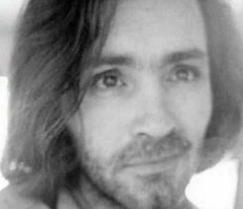 Charles Manson has a far away look.