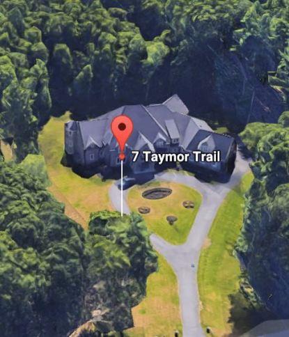 Map view of Sara Bronfman house