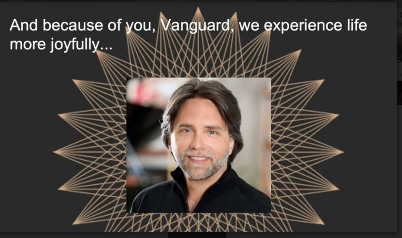Image result for thank you vanguard because of you v week frank report
